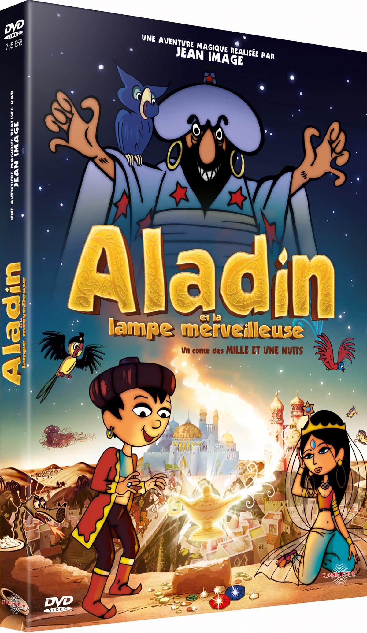 critique dvd aladin et la le merveilleuse cinedingue