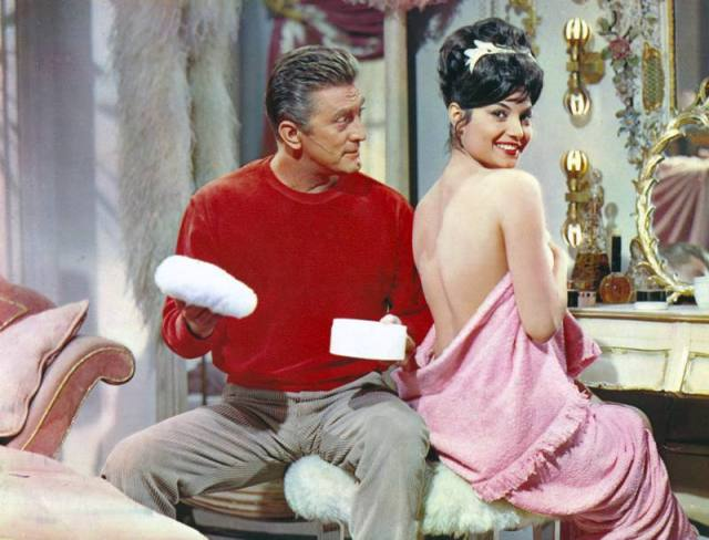 TWO WEEKS IN ANOTHER TOWN [US 1962] KIRK DOUGLAS, DALIAH LAVI