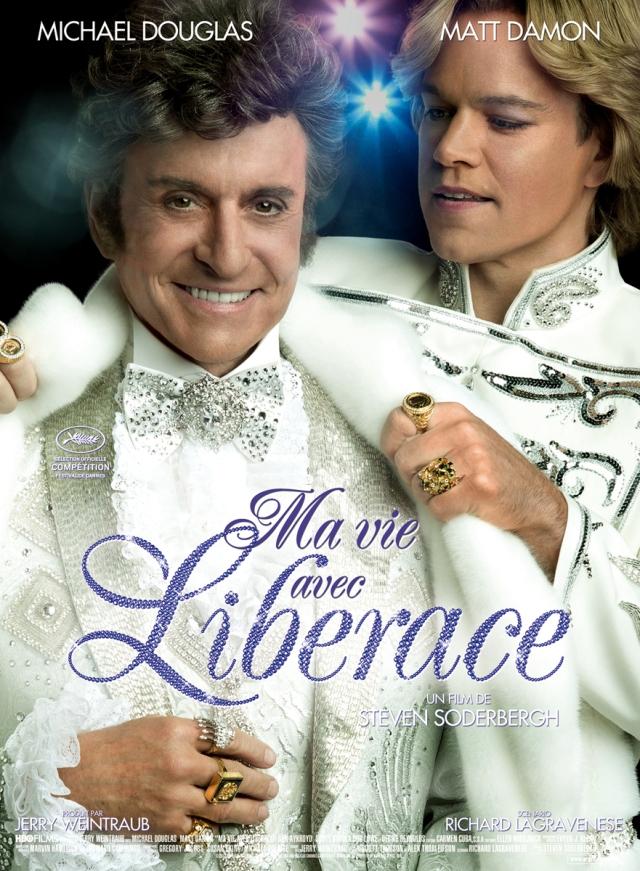 Affiche-Ma-Vie-avec-Liberace-Behind-The-Candelabra-french-poster-Michael-Douglas-Matt-Damon-Steven-Soderbergh