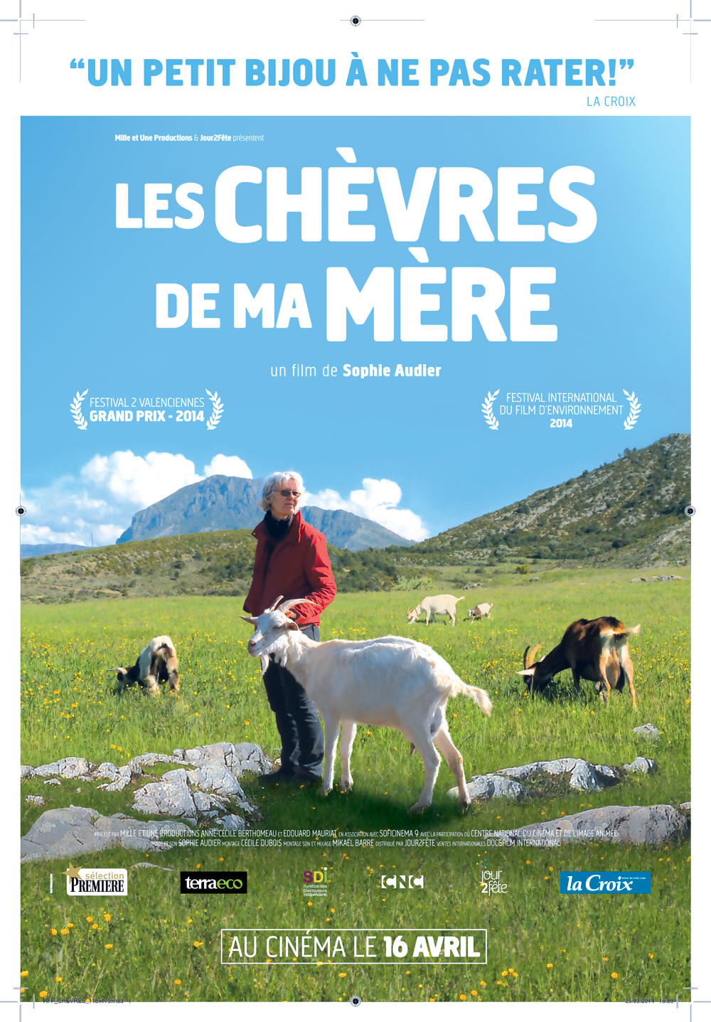 Sortie du documentaire LES CHEVRES DE MA MERE   Utopia 16 avril